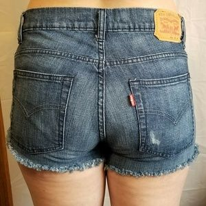 Levi's Shorts - NEW LISTINGS LEVI CUTOFF low mid & high distressed